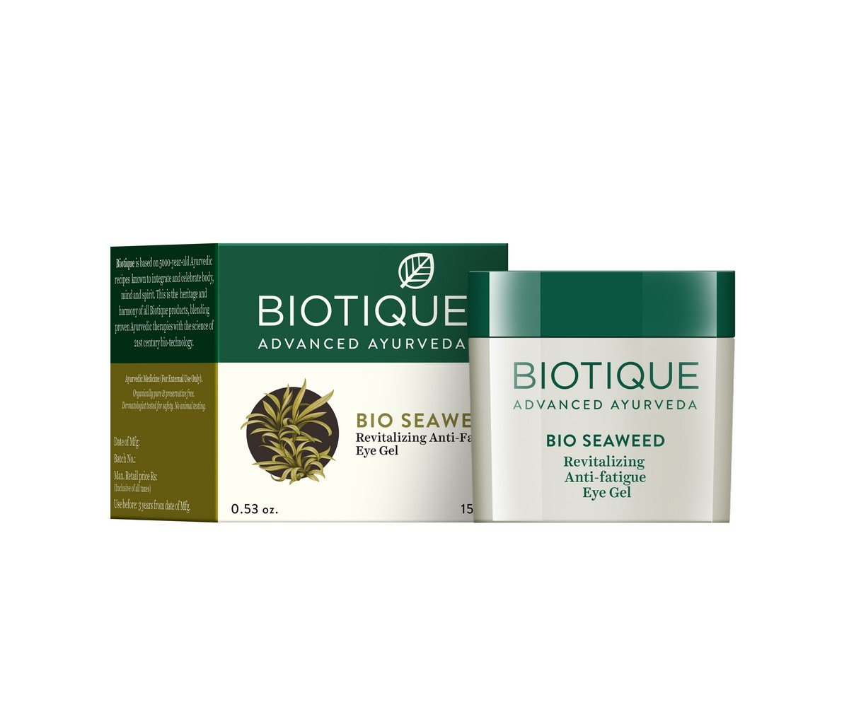 Biotique Algas Revitalizante Anti-Fatigue Eye Gel Bio Veda Action Research Co RETMLSJ0002