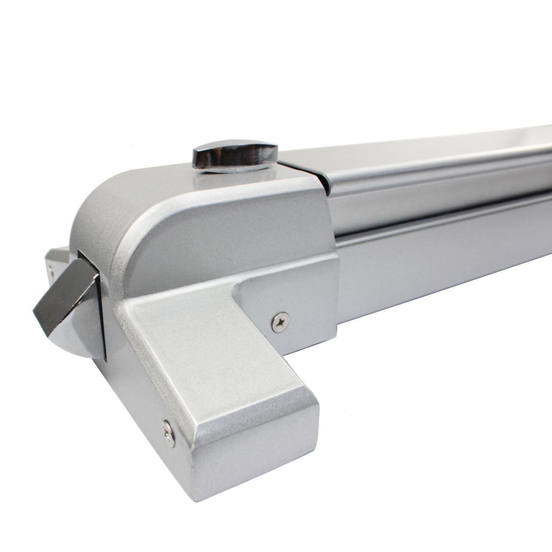 Push Bar Panic Exit Device Sprayed Aluminum Suitable for Wood Metal Door