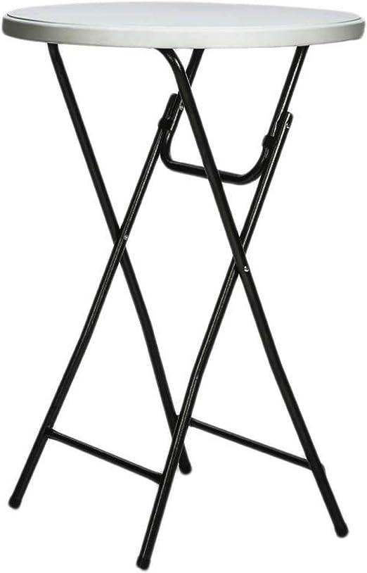 Mesa de bar alta para comer de pie plegable, altura 110 cm ...