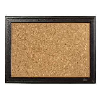 Quartet Cork Bulletin Board 11 X 17 Inches Black Frame 79279 Amazon Co Uk Business Industry Science