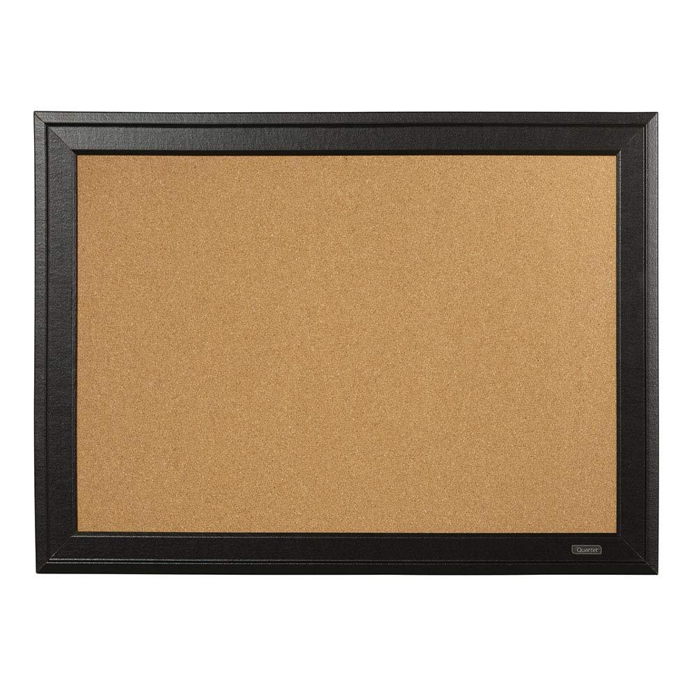 Quartet Cork Board, 11'' x 17'' Bulletin Board, Home Décor Corkboard, Black Frame (79279)