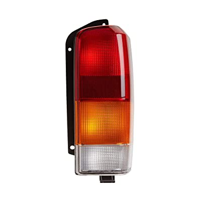 Epic Lighting OE Style Replacement Rear Brake Tail Light Assembly for 1997-2001 Jeep Cherokee [ CH2801128 4897398AA ] Right Passenger Side RH: Automotive