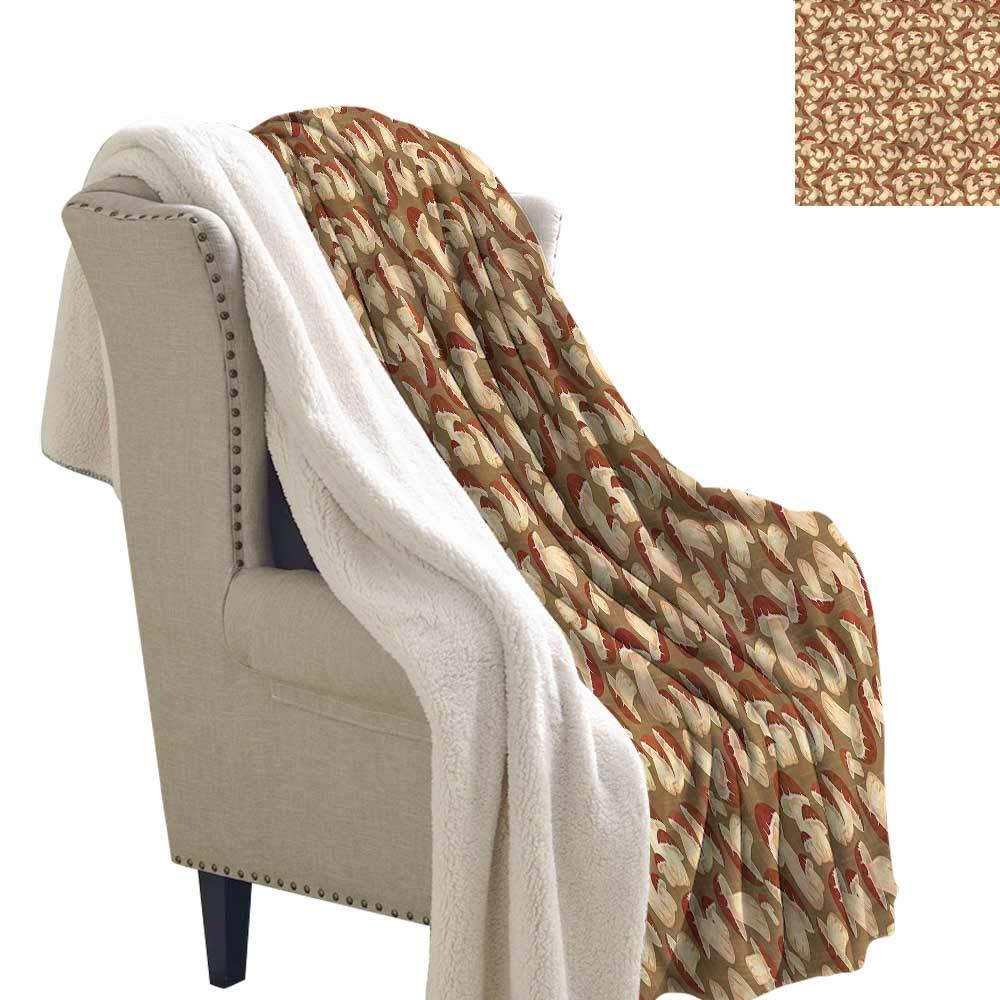 Amazon.com: Mushroom - Manta de franela para cama, diseño de ...