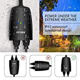 Outdoor Smart Plug, Peteme Outdoor Wi-Fi Outlet