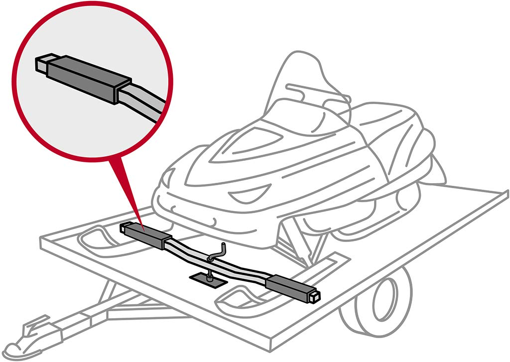 Raider SP-311 Snowmobile Ski Protector