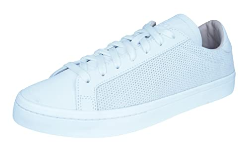 sports shoes 64a38 6e4b2 adidas Court Vantage Sneaker, Viola (Bianco), 8 UK