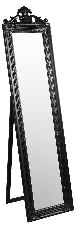 Febland Elizabeth Standing Mirror, Black FM641B