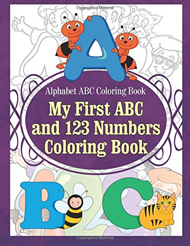 Alphabet Coloring Book First Numbers product image
