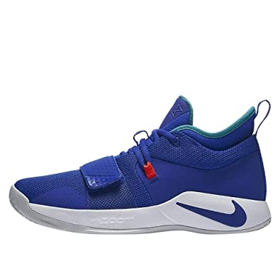 Nike PG 2.5 Basketball Shoes (M10.5/W12, Blue/White)