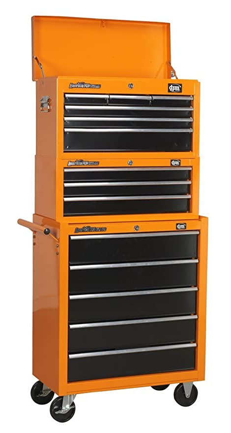 Djm Direct Pro Heavy Duty Tool Box Storage Stack System 6d Top