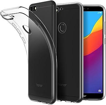 EasyAcc Huawei Honor 7C Funda, Case Ligera Cristal Transparente ...