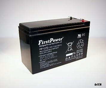 FirstPower 12v 7ah First Alert ADT Alarm Battery