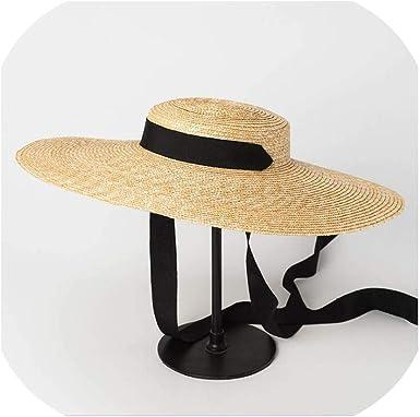 Women Ladies Summer Big Wide Brim Cotton Hat Floppy Derby Beach Sun Foldable Cap
