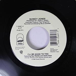 """Secret Garden - Quincy Jones 7"""" 45"""