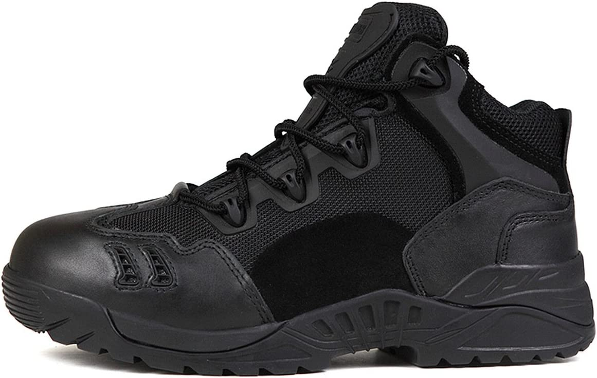 FREE SOLDIER Men s Mid Waterproof Hiking Boot Outdoor Backpacking Shoe Black 7