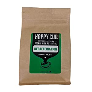 Happy Cup Coffee, Coffee Decaf, 12 Ounce