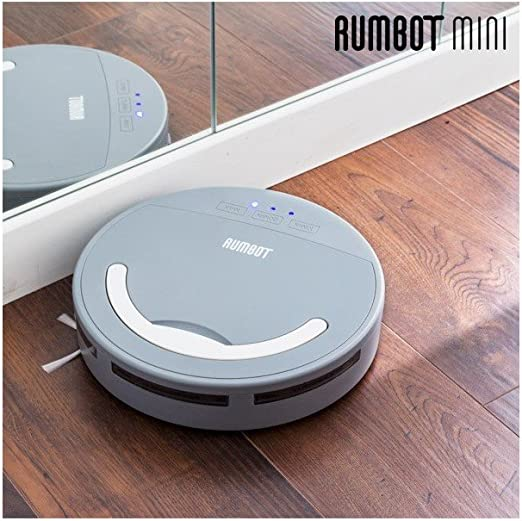 Omnidomo-RumBot Mini-Robot Aspirador Inteligente, Cepillo Lateral ...