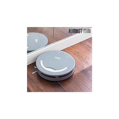 Omnidomo-RumBot Mini-Robot Aspirador Inteligente, Cepillo Lateral 360º, Batería Recargable,