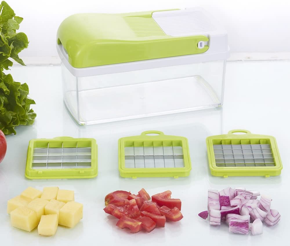 Cocina Slicer Dicer vegetal Chopper cortador de picadora manual ...