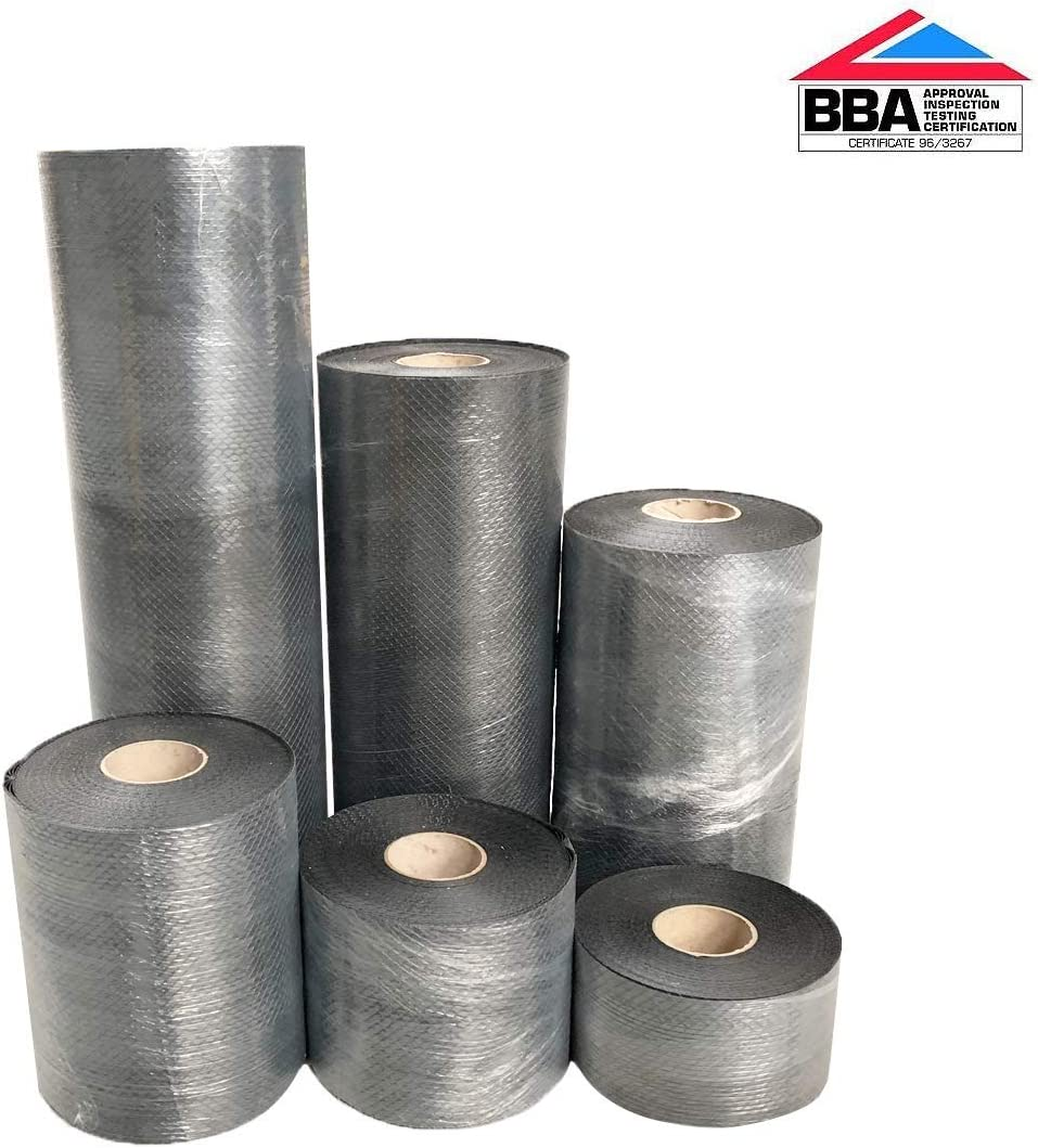 /600/mm x 30/m DPC Truly PVC Supplies Rouleau r/ésistant /à l/'humidit/é Bond-It membrane 100/mm/