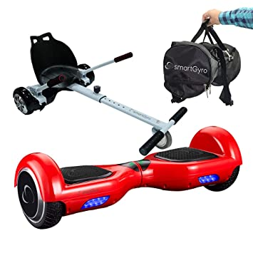SmartGyro X1s Red - Pack Hoverboard + Go Kart + Bolsa de ...