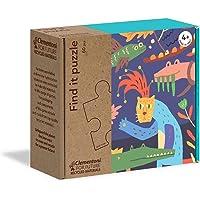 Clementoni - 16221TR - Play For Future - Find It Puzzle - Yaz, eğitici oyuncak