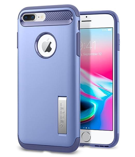 amazon com spigen slim armor iphone 7 plus case with kickstand and