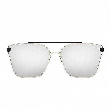 8471117c82 Quay Australia CASSIUS Sunglasses in Silver  Amazon.co.uk  Clothing