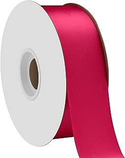 "product image for Offray Berwick 1.5"" Single Face Satin Ribbon, Azalea Pink, 50 Yds"