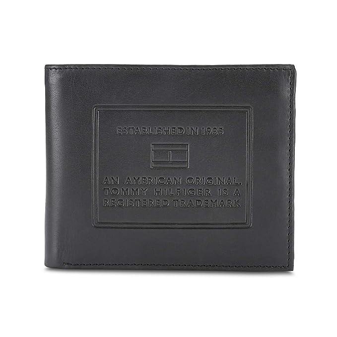 Tommy Hilfiger Black Leather Men's Wallet  8903496142037