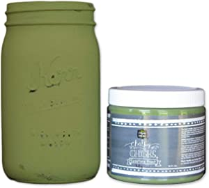 Chalky Chicks | Chalk Finish Paint | Perfect For Furniture, Cabinets, Home Decor, & DIY Craft Projects | 16 oz | Lily Pad