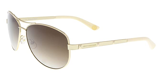 026855b332 JUICY COUTURE 554 S Sunglasses 03YG Gold Y6 Brown Gradient 60-14-135