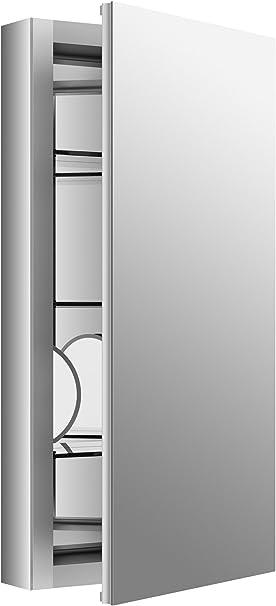 Amazon Com Medicine Cabinet By Kohler Bathroom Medicine Cabinet With Mirror Verdera Collection 15 Inch X 30 Inch Slow Close Magnifying Mirror K 99001 Na Home Improvement