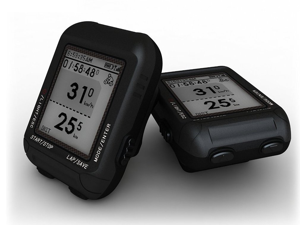 D3 POSMA GPS Cycling Bike Computer Speedometer with BHR20 Heart Rate Monitor