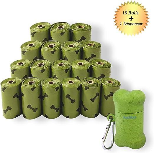 Bolsas para caca de mascotas, biodegradables bolsas de residuos ...