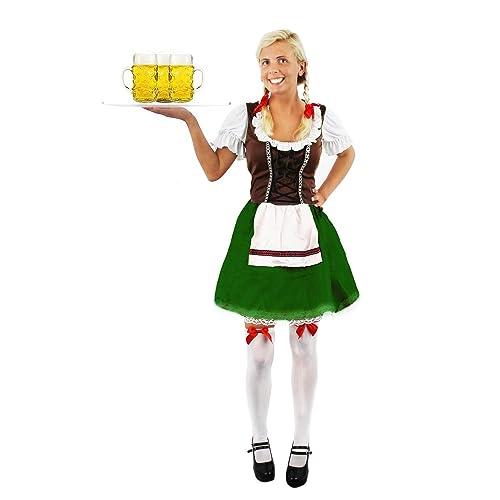 I Love Fancy Dress ILFD4505S Ladies Bavarian Costumes (Small)