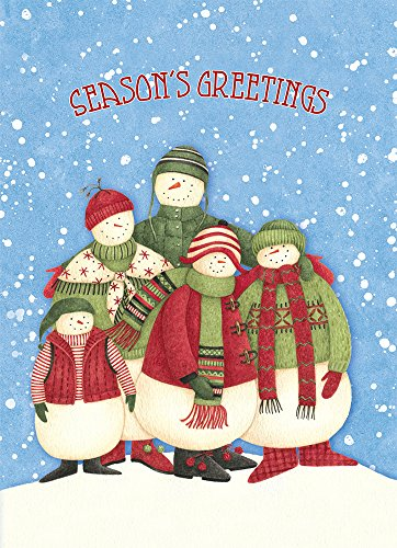 Tree-Free Greetings Holiday Cards and Envelopes, Set of 10, 5 x 7