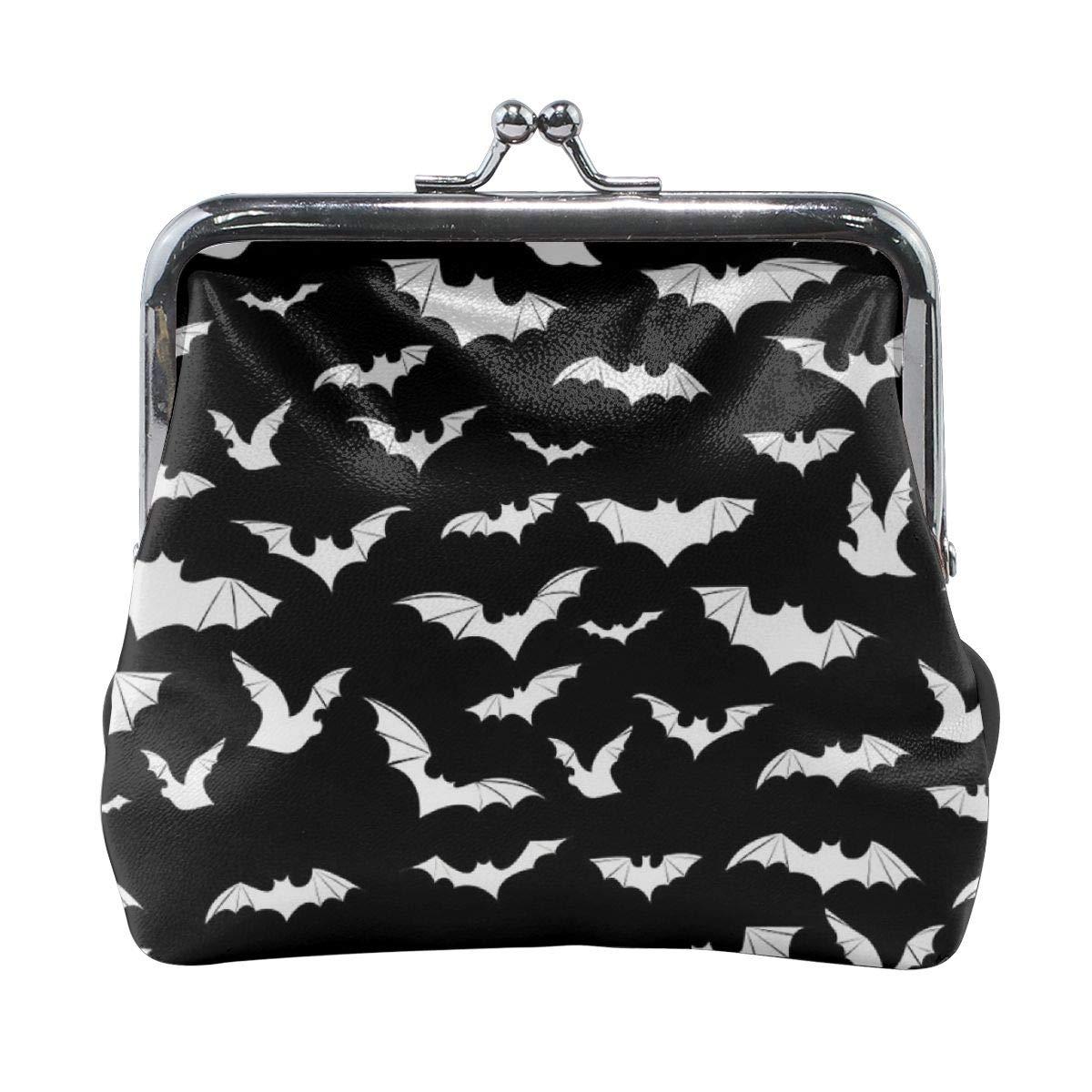 Women Flying Bat Buckle Coin Purses Mini Size Wallet