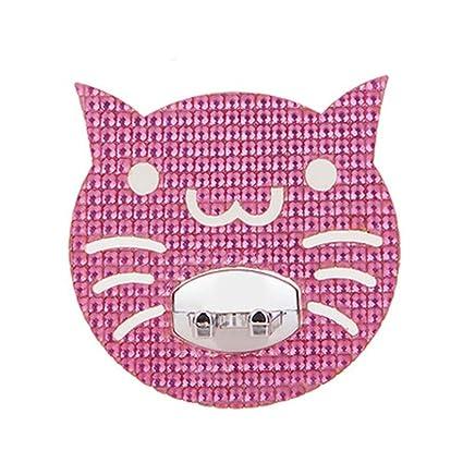 Conjunto de 3 creativa linda del gato formó Cepillo de dientes Pasta de dientes sostenedor del