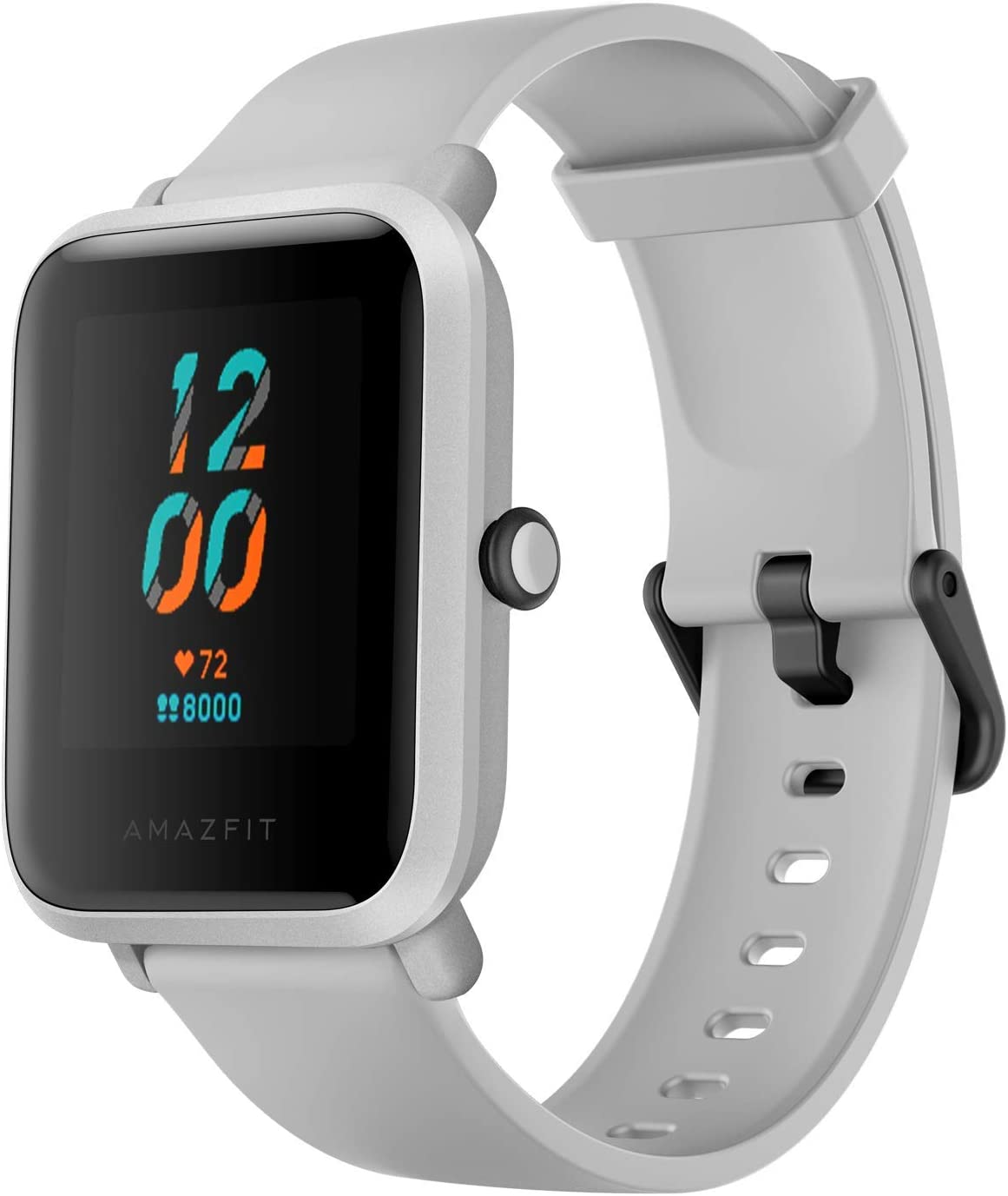 Amazfit Bip S Smartwatch Reloj Inteligente Fitness Rastreador con Monitor cardíaco y Gimnasia batería útil de 40 días duración Sumergible 5 ATM Bluetooth 5.0 / BLE Andriod iOS Blanco