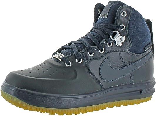 emocionante Injusto Todos los años  Amazon.com | Nike Grade-School Lunar Force 1 Sneakerboot GS Dark Obsidian  Sneakers | Basketball