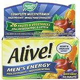 Alive Men's Energy Nature's Way 50 Tabs 2 Pack
