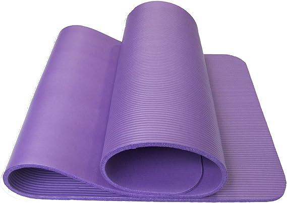 YOOMAT Yoga Mat 8Mm Delgado, el Principiante Nbr Ejercicio Hombres ...