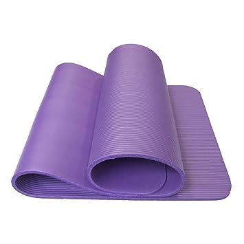 YOOMAT Yoga Mat 8Mm Delgado, el Principiante Nbr Ejercicio ...
