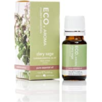 ECO. Modern Essentials Aroma Clary Sage Pure Essential Oil 10 ml, 10 milliliters