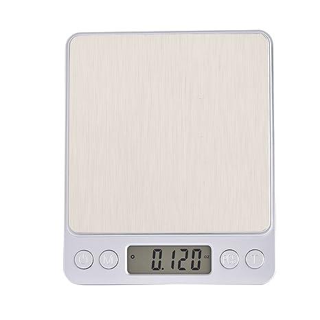 Eboxer Básculas de Pesaje Digitales para Cocina, Básculas con Plataforma más Grande y Pantalla LCD