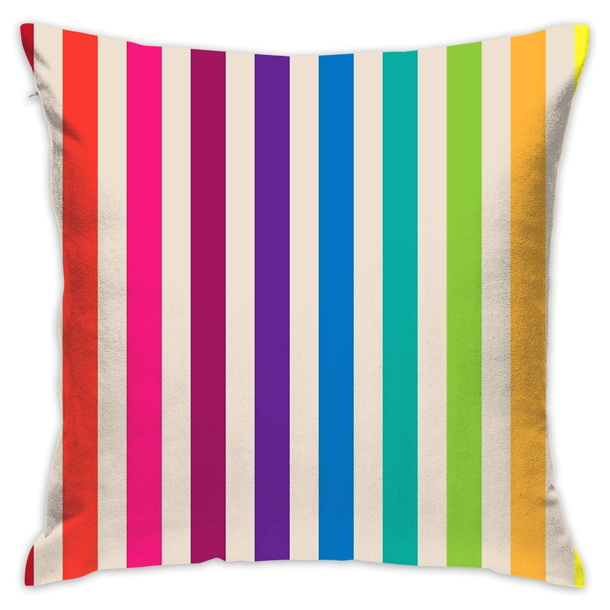 Amazon.com: HUERY Multi-Colored Rainbow Candy Stripes ...