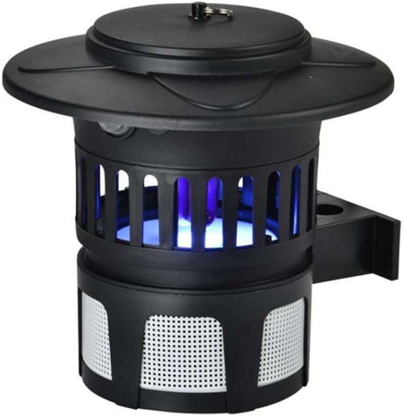 Mata insectos sobremesa por absorción con ventilador para Exterior ...
