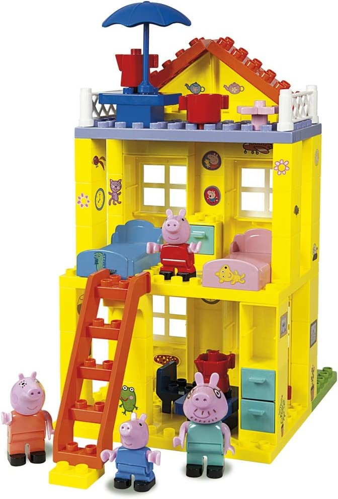 Casa de Peppa Pig de bloques de construcción (Simba 6063439 ...
