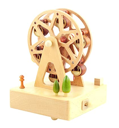 east majik exquisite ferris wheel music box decoration gift for christmas or birthday
